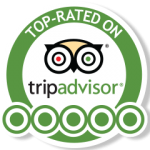 Top-rated on tripadvisor.